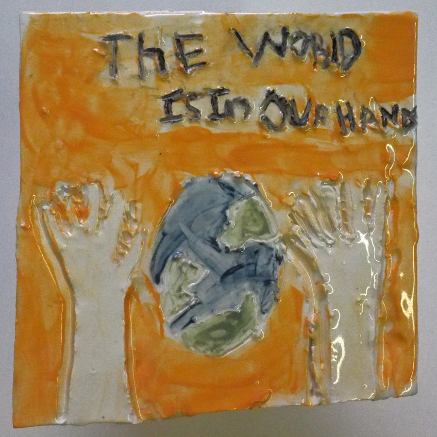 Student Art on Climate Change | Mishkan Shalom Synagogue School