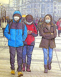 Sara Drower – theme: air pollution