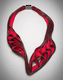 Kate Cusack – repurposed zippers