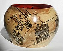 Yelena Synkova – scrap wood, theme: threatened urban areas